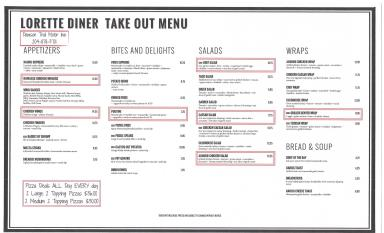 Take Out Menu 2020 Pg1